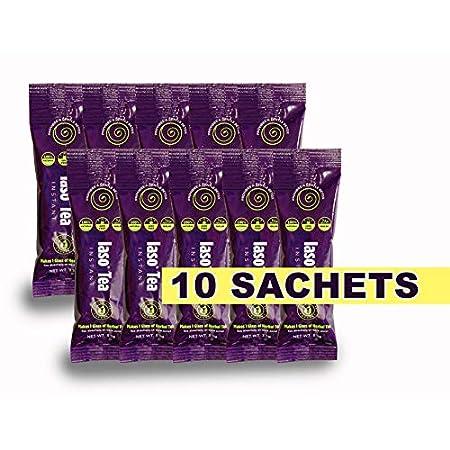 Detox products IASO Natural Detox Instant Herbal Tea – 15 Sachets Packaging May Vary Between