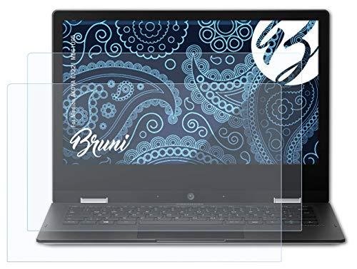 Bruni Schutzfolie kompatibel mit Medion AKOYA E3221 MD61095 Folie, glasklare Bildschirmschutzfolie (2X)
