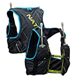 Nathan Pinnacle 4L Hydration Pack/Running Vest - 4L Capacity with Twin 20 oz Soft Flasks Bottles....