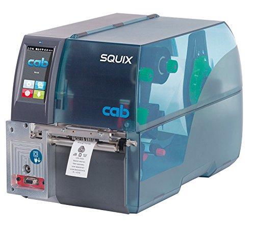 Cab squix MT Thermal Transfer Drucker mit) und Software Cab A4+