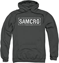 Sons of Anarchy Samcro Pull-Over Hoodie Sweatshirt & Stickers