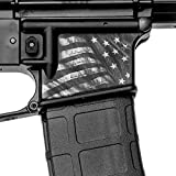 GunSkins Magwell Skin - Premium Vinyl Decal - Easy to Install and Fits AR-15 Lower Receivers - 100% Waterproof Non-Reflective Matte Finish - Made in USA - Proveil Victory Grey