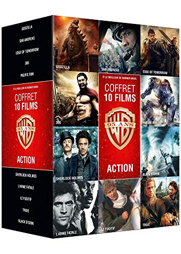 Coffret DVD 10 films d'action