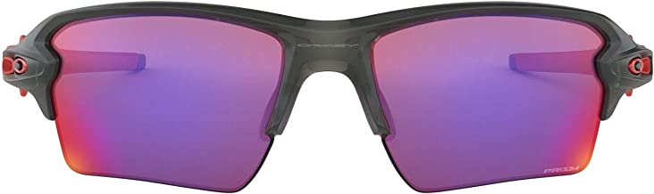 Oakley FLAK 2.0 XL OO9188 04 Cinza Fosco Lente Violeta Prizm