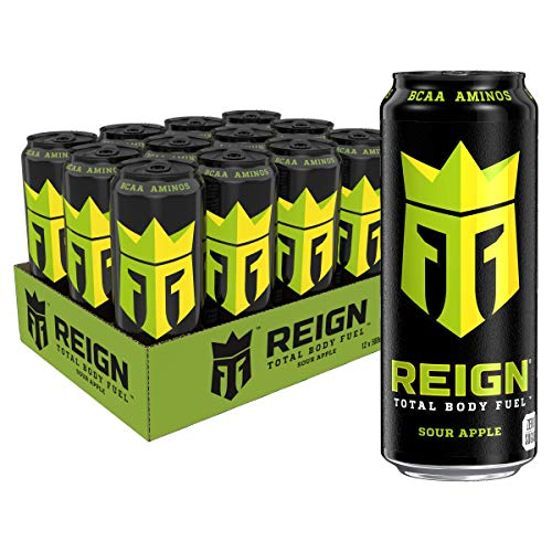 Reign Monster REIGN Sour Apple Can, 12 x 500 ml Cans
