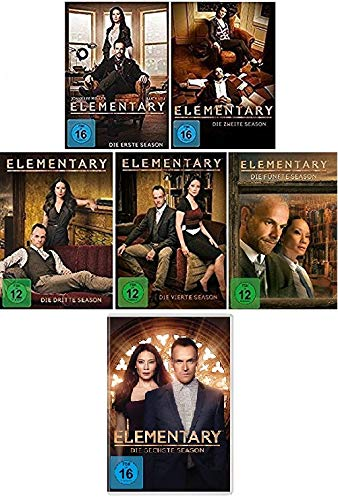 Elementary Season 1-6 im Set - Deutsche Originalware [36 DVDs]