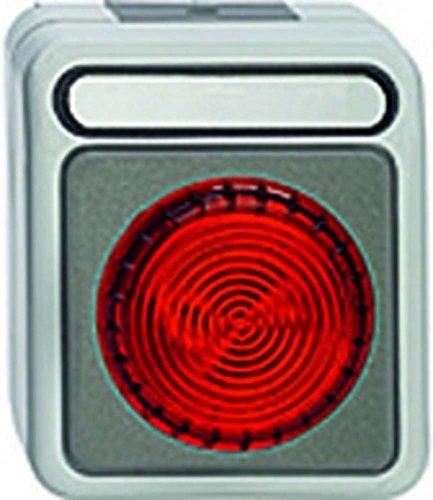 Merten MEG4410-8029 Lichtsignal E 14, lichtgrau, AQUASTAR