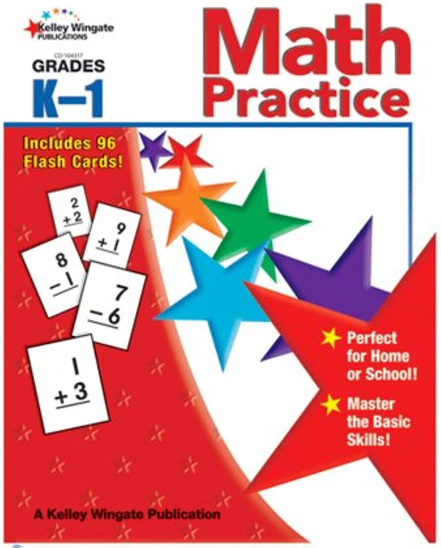 Carson Dellosa CD-104317 Math Practice Gr K-1