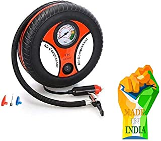 H.R. H.R NAKRANI Enterprise Air Pump,High Pressure Air Compressor Pump Air Tyre Inflator, Pump Compressor for Car and Vehi...