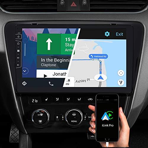DYNAVIN Autoradio Navi für Skoda Octavia III Mk3 2013-2020, 10,1 Zoll OEM Radio mit Bluetooth, Inkl. DAB+, USB, Kompatibel mit Carplay und Android Auto: DX-SK-7 Flex