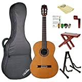Cordoba C9 CD Crossover Acoustic Nylon String Classical Guitar with Polyfoam Case, ChromaCast Tuner, & Accessories,C9 Crossover-KIT-2
