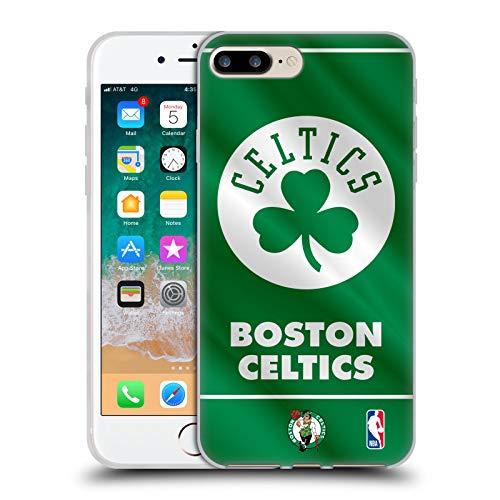 Head Case Designs Licenza Ufficiale NBA Banner 2019/20 Boston Celtics Cover in Morbido Gel Compatibile con Apple iPhone 7 Plus/iPhone 8 Plus