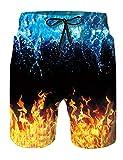 Goodstoworld Pantalones Cortos De Natación para Hombre...