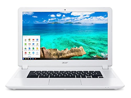 Acer CB5-571 15.6 Inch Chromebook 15 Notebook (IPS 1920x1080 FHD 1080P Display, Intel Celeron 3205U, 4GB RAM, 16GB SSD, Bluetooth, HDMI, 802.11A/C, Webcam) (Renewed)