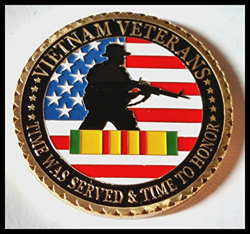 lovesports2013 US. Military Vietnam Veterans 24K Gold Plated Challenge Coin 1061#