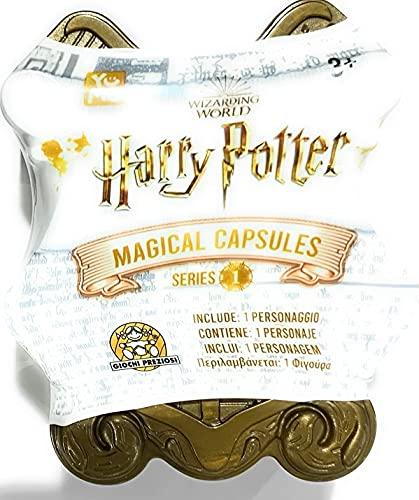 Harry Potter, Capsule Magiche Serie 1, confezione sorpresa con mini personaggio collezionabile dai film di Harry Potter, per bambini dai 4 anni, Giochi Preziosi, HRR02000