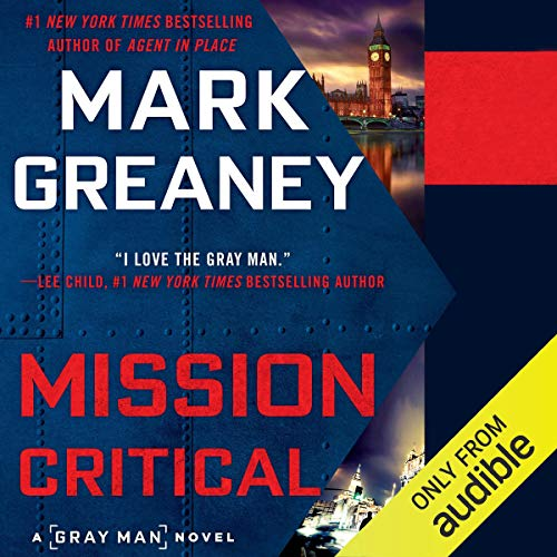 Mission Critical audiobook cover art