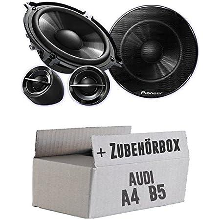 Pioneer Ts G133ci 13cm Lautsprechersystem Einbauset Für Audi A4 B5 Just Sound Best Choice For Caraudio Navigation