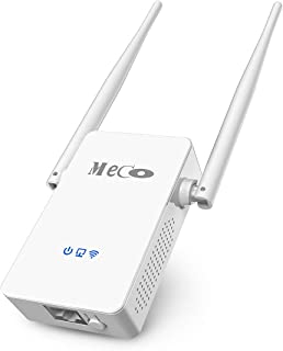 WiFi Range Extender, MECO AC750 WiFi Repeater Dual Band WiFi Signal Booster Amplifier 2.4/5GHz Supports Repeater/Access Point/Router Mode Easily Setup with Ethernet Port, Extends WiFi to Smart Home
