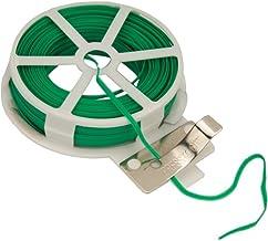 Alambre plastificado 1.2 mm//250 gr//75m Acero galvanizado bobina
