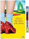 Trends International Wizard of Oz-No Place Like Home Wall Poster, 22.375' x 34', Poster & Clip Bundle