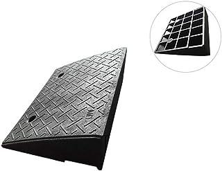 Rampas para bordillos, Negro antideslizante Pendiente de inclinación Soportado Voltaje Fácil de transportar Pendiente Triángulo