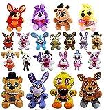 NC168 21 unids/Set 18-25 cm Foxy Bear Peluche de Juguete Película de Dibujos Animados Cinco Noches en Freddy s Regalos de Animales de Peluche para niños