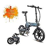 FIIDO D2 Vélo électrique Flexible Vélo électrique en Aluminium de 16 Pouces pour vélo électrique pour Adultes avec Batterie au Lithium intégrée de 36V, 7.8 Ah, Moteur sans Balai de 250 W et Freins