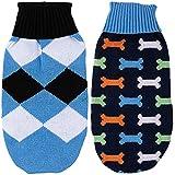 BCASE, Pack 2 Suéter para Mascotas, Ropa de Perros, Ropa de Gatos, Suéter Cálido para Invierno, Jers...