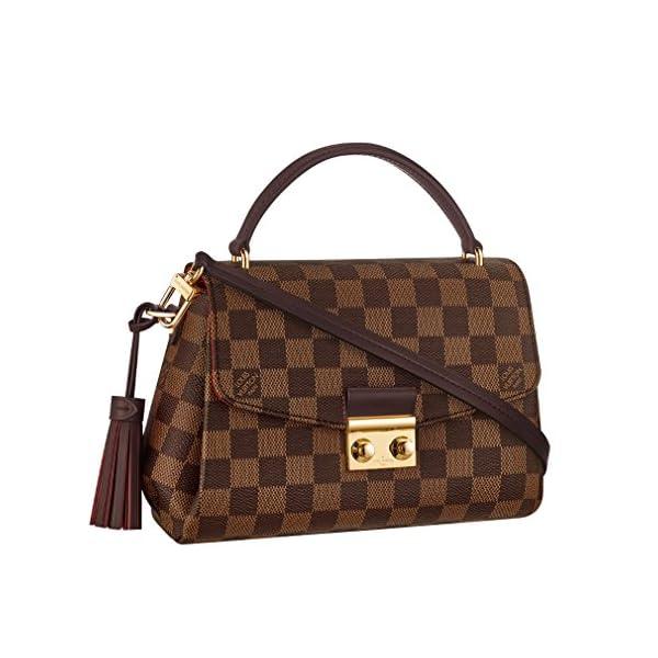 Fashion Shopping Louis Vuitton Damier Ebene Canvas Croisette Hand Carry Shoulder Handbag Article:N53000