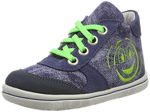 Däumling Jungen Priya Sneaker, Blau (Turino Jeans 42), 23 EU