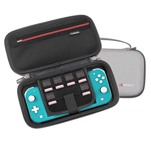 RLSOCO Hard Case for Nintendo Switch Lite (Grey)