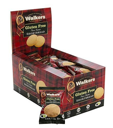 Walker's Shortbread Gluten Free Rounds Snack Packs, 24 Ounce