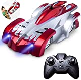 RC Cars for Kids Remote Control Car Toys with Wall Climbing,Low Power Protection,Dual Mode,360°Rotating Stunt,Rechargeable High Speed Mini Toy Vehicles with LED Lights Gifts for Boys Girls (Red)
