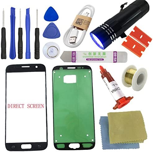 for Samsung Galaxy S7 Screen Replacement Direct Screen Sunmall Front Outer Lens Glass Screen product image