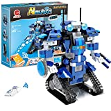 Robot Building Kit, Remote & APP Controlled STEM Learning Educational Science Building Toys for Kids Ages 8+, New 2021 (392 Pieces)