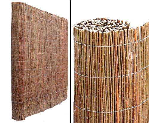 bambus-discount.com Weidenmatte Model Chiemsee 200 x 300cm - Sichtschutz Matten - Naturmatten