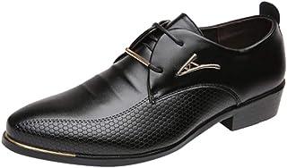 STRIR Zapatos de Cordones Derby para Hombre | Zapatos con Alzas Hombre | Zapatos Hombre Vestir
