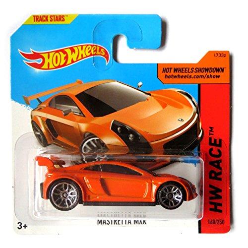 Hot Wheels Mastretta MXR - Maqueta (escala 1:64), color naranja