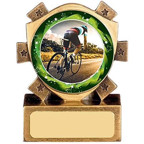 Trofeo Shack Ciclismo Mini Stella 7,6 cm, Incisione gratuita RM401AC055