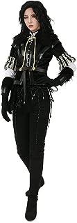 Women's Fashion Black Yennefer Cosplay Costume
