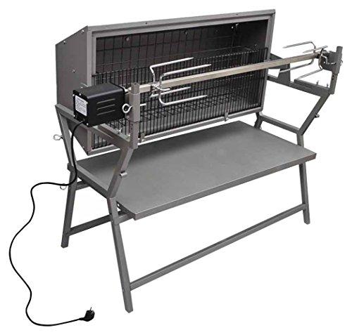 VidaXL - 41349 -Barbecue rôtissoire