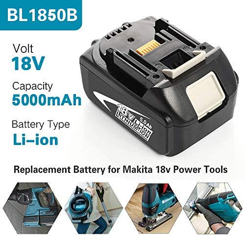 2X Für Makita Replace Ersatz Akku BL1840B Li-Ion 18V 4.0Ah BL1840 BL1830 BL1850B