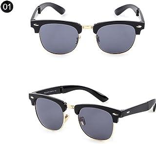 jgashf Coole Fliegerbrille Sonnenbrille Premium Polarisierte Klassische Unisex Pilotenbrille Mehrfarbig Uv400 Schutz Gold, Blau