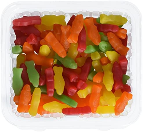 Juju Fish 2 5 pounds Bulk Assorted Colors Comes in a Resealable Plastic Airtight Container product image