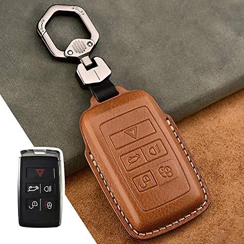 Car Key Ring, Car Key Case, Car Key Protection, Pu Material, Handmade, Excluding Keys, Suitable For Discover/Range Rover/Defender/Velar,E