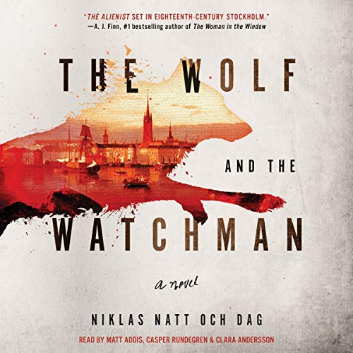 The Wolf and the Watchman audiobook cover art