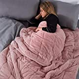 Brentfords Super Soft Teddy Fleece Weighted Blanket with Micro...