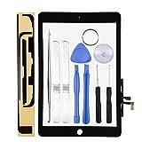 LL TRADER Pantalla para iPad Air 1/iPad 5 Negro, Reemplazo de Táctil Screen Digitalizador de Frontal de Vidrio y Herramintas