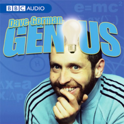 Dave Gorman, Genius audiobook cover art